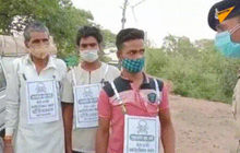 """Ấn Độ """"răn đe"""" người không chịu tiêm vaccine COVID-19 bằng thông điệp có hình đầu lâu xương chéo"""