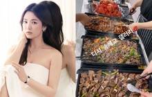 Song Hye Kyo check-in bên bữa tiệc thịnh soạn gây choáng 126 triệu đồng, nhân vật bí ẩn nào gửi tặng mà khủng thế?