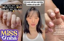 Thiếu vắng tiệm nail, salon tóc, sao Việt đành phải tự xử và kết quả thì buồn điên lên