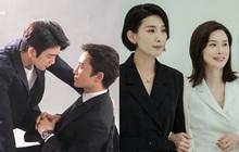 """Bà xã Lee Bo Young """"bách hợp trá hình"""" trong Mine, Ji Sung tung ảnh hậu trường tình tứ với nam thần GOT7 """"dằn mặt"""" hay gì?"""