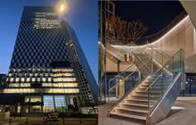 """Xem ảnh trụ sở mới của SM xong, fan """"bật mood"""" cà khịa: Công ty tầm trung bày đặt xây to thế làm gì?"""