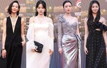 """Thảm đỏ Đêm Điện ảnh Weibo: Âu Dương Na Na hoá tiên tử, """"đè bẹp"""" Trương Quân Ninh già chát cùng dàn mỹ nhân"""