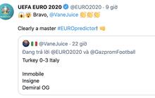 """Xuất hiện """"thánh"""" dự đoán chính xác từng chi tiết trận khai mạc Euro 2020: Ai còn FA mau nhắn hỏi xem bao giờ hết ế?"""