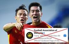 """Bị Fanpage của Hiệp hội Liên đoàn bóng đá Malaysia chặn IP, cộng đồng mạng tìm cách """"vượt rào"""""""