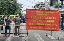 Phong tỏa đường 5K ở quận 7 vì liên quan nhân viên BV Bệnh Nhiệt đới TP.HCM nhiễm Covid-19