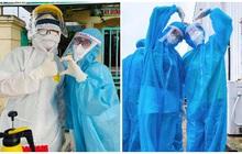 Những khoảnh khắc siêu cấp dễ thương của sinh viên trường Y tham gia chống dịch tại Bắc Ninh