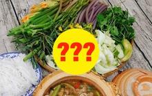 Miền Tây - xứ sở các loại rau lạ mùa nước nổi: Đố bạn đọc hết tên các loại rau dưới đây