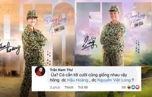 """Nam Thư đúng là trưởng nhóm """"ship"""" Hậu Hoàng - Mũi Trưởng Long rồi, """"chèo thuyền"""" ngay trên poster MV của Dương Hoàng Yến"""
