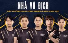 Chính thức: B2F Gaming vô địch ĐTDV Series B, nắm tay HEAVY trở lại giải đấu Liên Quân số 1 Việt Nam