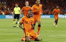 Hà Lan thắng hú hồn sau màn rượt đuổi mãn nhãn với 5 bàn thắng trong hiệp 2