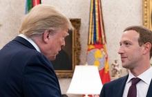 """Ông Trump: """"Đáng lẽ tôi đã cấm Facebook, nhưng Mark Zuckerberg liên tục gọi điện rồi đến Nhà Trắng ăn tối"""""""