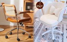 Decor phòng sang-xịn-mịn là phải có ghế xoay: Đã đẹp lại còn tiện, giá nào cũng có