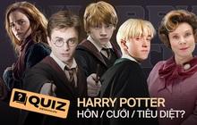 """QUIZ: Thử chọn Hôn, Cưới hay... Tiêu diệt nhân vật Harry Potter để xem gu của bạn """"mặn"""" đến mức nào so với mọi người nhé!"""
