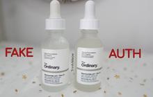 Khỏi dài dòng phức tạp, bạn cứ test nhanh 4 điều sau là biết mình có mua phải serum The Ordinary giả hay không