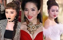 Thi thoảng nhìn lại ảnh cũ của sao Việt mà giật mình: Quá trời mỹ nhân makeup sợ phát khiếp