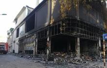 Ảnh: Hiện trường ám ảnh vụ cháy phòng trà khiến 4 người lớn và 2 trẻ em tử vong trong đêm