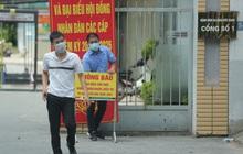 Ảnh: Bệnh viện Đức Giang ngừng tiếp nhận bệnh nhân sau 2 ca dương tính SARS-CoV-2