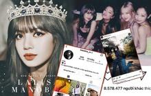 Lisa (BLACKPINK) trở thành idol Kpop đầu tiên cán mốc 54 triệu followers trên Instagram, xác lập luôn 4 kỷ lục