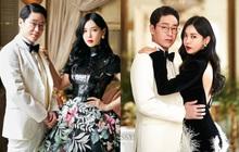 """""""Cặp đôi mưu mô"""" Penthouse tung ảnh cưới cực tình, Kim So Yeon đang kín bưng bỗng quay lại hở võng lưng trần sexy """"cháy mắt"""""""