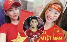 """Vừa vào sân Tiến Linh đã có pha ghi điểm """"đào hoa"""" gây sốt: Hết tình cũ Hồng Loan đến Quỳnh Thư có động thái đặc biệt ủng hộ!"""