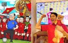 """Chuẩn fan cuồng đội tuyển Việt Nam, Cris Phan làm dậy sóng mạng xã hội, nhưng cũng không quên """"cà khịa"""" đối thủ!"""