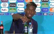 """Học theo Ronaldo, sao MU và tuyển Pháp """"hắt hủi"""" một sản phẩm khác của nhà tài trợ Euro 2020"""