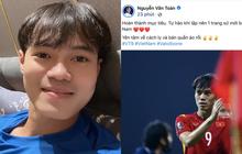 """""""Chủ tịch"""" Văn Toàn có chia sẻ đầu tiên sau trận đấu với UAE: """"Yên tâm về cách ly và bán quần áo rồi"""""""