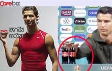 """Ronaldo từng quảng cáo cho Coca-Cola trước khi thẳng tay """"dẹp"""" 2 chai nước ngọt, khiến hãng mất 4 tỷ USD"""