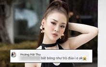 """Người đẹp """"trù ẻo"""" Hương Giang chê Tấn Trường bắt bóng như trò đùa, đòi thay bằng Văn Lâm"""