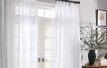 4 lý do nên chọn rèm cửa màu trắng: Ai không phải mệnh Kim cũng dễ bị thuyết phục bởi 3 điều