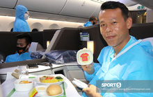Đội tuyển Việt Nam cảm động vì được tri ân bằng món ăn đặc biệt