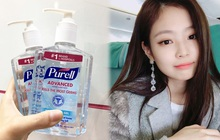 Jennie cũng dùng loại gel rửa tay cực kỳ thông dụng tại Việt Nam, muốn có cheap moment với nàng thật dễ