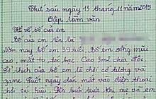 Cô bé làm văn tả bố: 9/10 câu kể tội xấu, quay xe dòng cuối khiến người lớn cũng không đỡ được