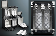 """Louis Vuitton tung ra mẫu rương đựng giày """"xịn đét"""", giờ đây việc bảo quản giày cứ phải gọi là ở -  cái - tầm!"""