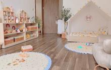 Mẹ đảm thiết kế phòng cho con xinh yêu như cổ tích, chi phí chưa đến 25 triệu mà đồ chơi toàn hàng sang xịn mịn