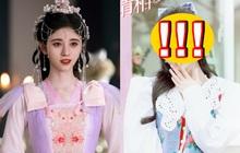 """Cúc Tịnh Y bị đoàn phim """"hại"""" ngay sinh nhật: Đăng ảnh chỉnh cực lố, trắng toát xốn mắt dù đã """"tháo make up""""?"""