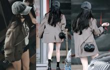 """""""Nữ hoàng sân bay"""" Dương Mịch xuất hiện chớp nhoáng với body đẳng cấp, đôi chân dài bị lu mờ vì 1 món nhỏ mà đắt đỏ trên tay"""