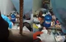 Đội phòng chống dịch Covid-19 phát hiện phòng trọ bẩn kinh hoàng của 1 nữ sinh, nhìn cảnh tượng bên trong mà phát sợ