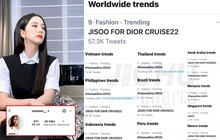 Jisoo (BLACKPINK) cán mốc 42 triệu follower, đánh chiếm top trending khắp thế giới