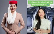 """""""Chị giáo hàng không"""" Lan Anh - người tiết lộ nước trên máy bay gây tiêu chảy chấn động dân mạng là ai?"""