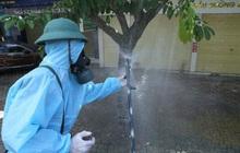 Ảnh: Phun khử khuẩn toàn bộ TP Vinh trong 3 ngày để ngăn ngừa Covid-19