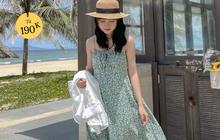 """Giờ sắm váy hai dây hoa nhí là """"chuẩn bài"""" rồi chị em, vừa xinh vừa mát mà giá lại """"hạt dẻ"""""""