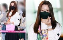 """""""Mỹ nhân tự nhận đẹp hơn Kim Tae Hee"""" ra sân bay, nhan sắc U50 hút hồn nhưng gia tài nửa tỷ nhồi nhét trên người mới choáng"""