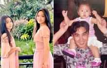 Coi đã đời loạt ảnh đẹp từ nhỏ của 2 ái nữ nhà Quyền Linh, ông bố MC quá chất với mái tóc bổ luống huyền thoại thập niên 90
