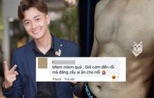 """Ngô Kiến Huy khoe ảnh body 6 múi căng đét khiến fan chỉ biết xuýt xoa: """"Mlem quá anh ơi"""""""