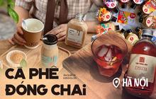 """Cà phê đóng chai thật sự là trend ở Hà Nội rồi: Đủ mẫu mã siêu xinh, hương vị thì gây """"nghiện"""" bao người"""
