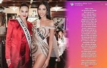 """Hoàng Thùy chính thức lên tiếng khi bất ngờ bị lôi vào """"cuộc chiến"""" trang phục Miss Universe với Khánh Vân"""