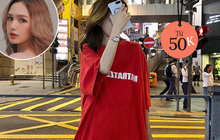 Xoài Non mách chị em chỗ mua áo phông oversize siêu đẹp mà giá chưa đến 100k