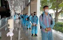 """CLB Viettel có mặt tại Thái Lan sau chuyến bay """"hành xác"""" giữa thời dịch"""
