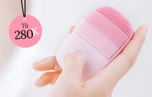 Chị em sắm máy rửa mặt để nâng cấp làn da đi, có loại đang giảm tới hơn nửa giá